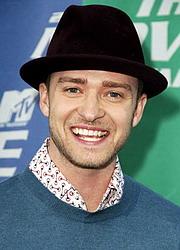 Zpěvák Justin Timberlake