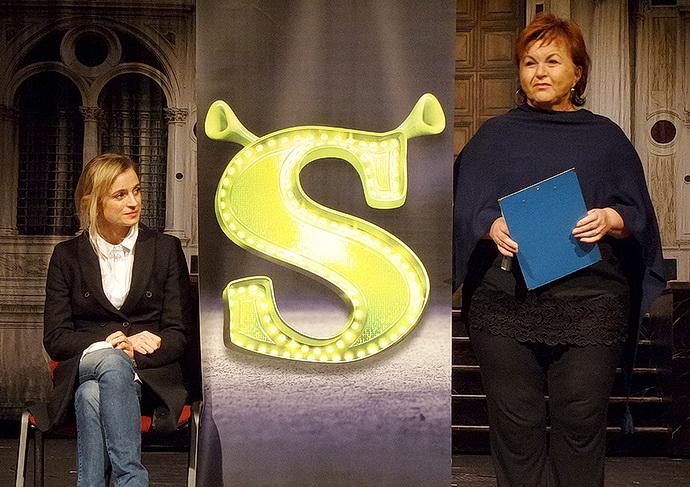 I.Jirešová a H.Křížková v divadle Hybernia (Foto: R. Janda)
