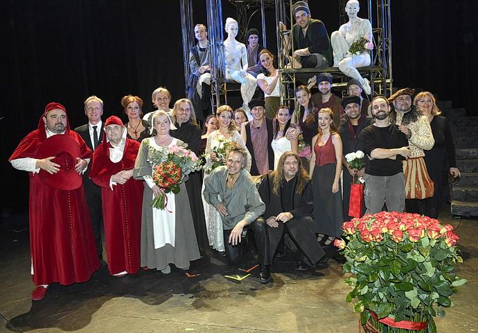 Muzikál Galileo po premiéře v Divadlo Hybernia