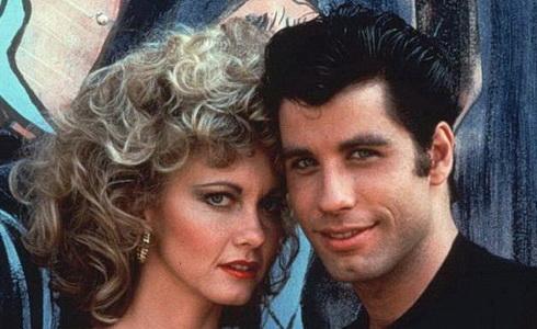 Olivia Newton-Johnová a John Travolta (Pomáda)
