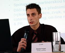 Daniel Trojan při TK