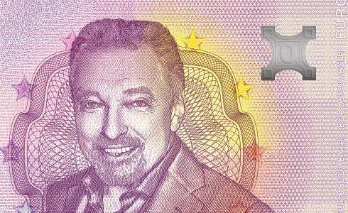 Karel Gott na bankovce