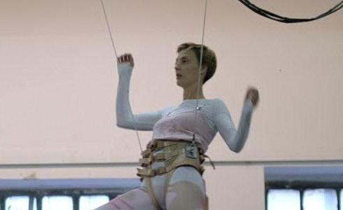Letící Barbora Poláková