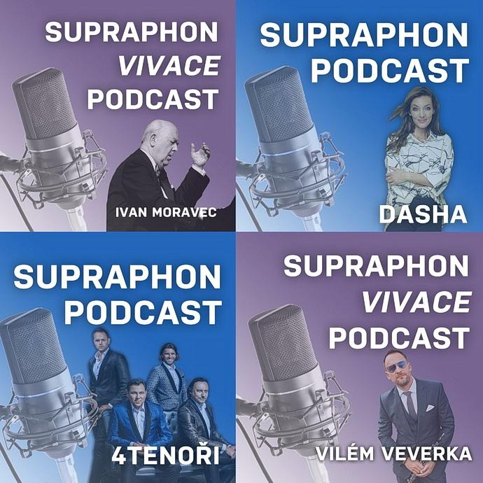 Podcast Supraphonu (vizuál)