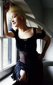 Zpěvačka Cyndi Lauper