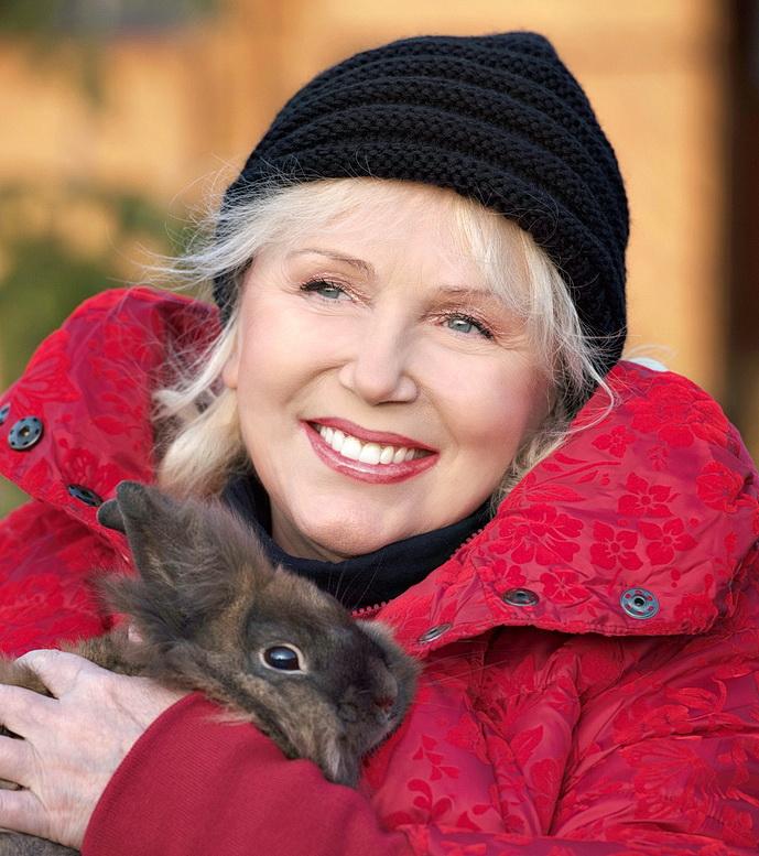Marika Gombitová si na farmě užívá přírodu a zvířátka