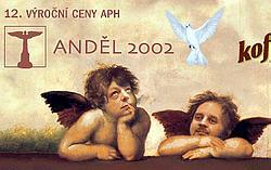 Plakát Anděl 2002