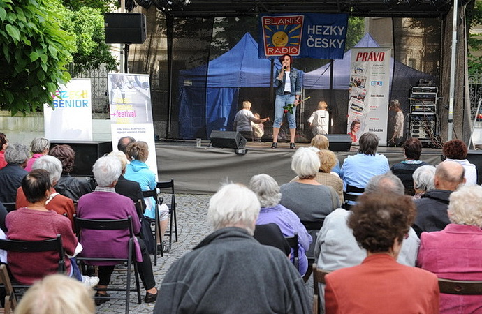 Fresh senior festival - Petra Janů (Foto: Jakub Joachim)