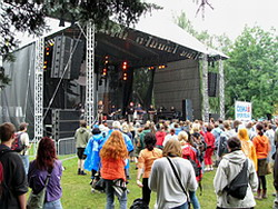 Z festivalu Colours of Ostrava 2005
