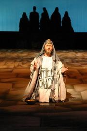 Z inscenace Nabucco (Národní divadlo v Brně)