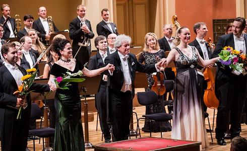 Ve�er dvou symfoni� - Rudolfinum