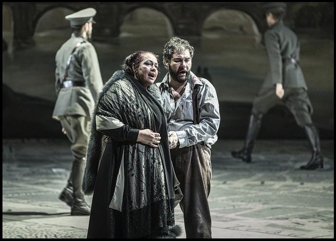 Tosca - Anda-Louise Bogza a Valter Borin (Foto: P. Borecký)