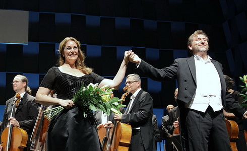 Meagan Miller a Andreas Schager
