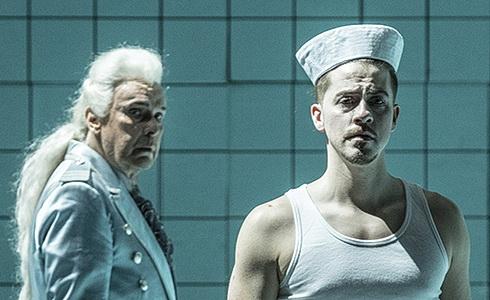 Štefan Margita a Christopher Bolduc (Billy Budd)