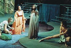 Z inscenace opery Rusalka