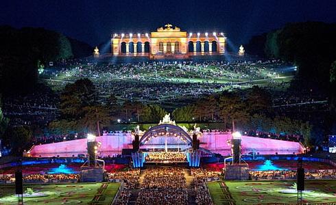 Koncert ze Schönbrunnu 2017