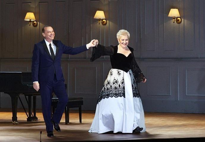 Štefan Margita a Eva Urbanová (Gala 60 v Národním divadle)