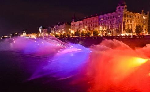 Hasičská fontána