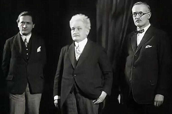 Leoš Janáček (střed)
