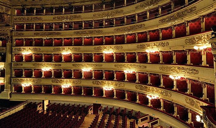 Hlediště Teatro alla Scala