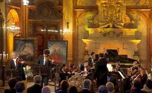 Vánoční koncert z Valdštejnského paláce