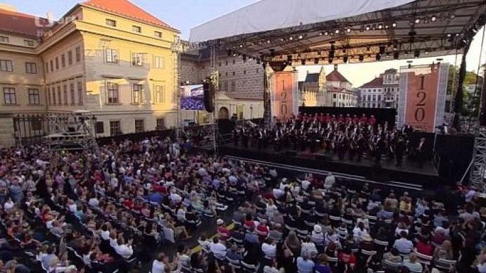 Česká filharmonie - open air