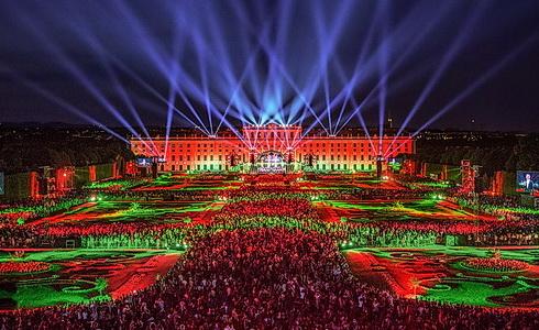 Koncert ze Schönbrunnu 2019