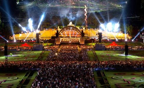 Koncert ze Schönbrunnu