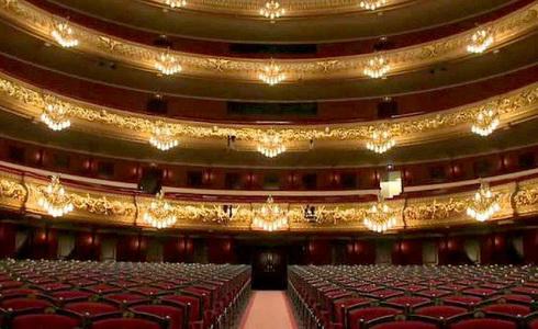 Velké divadlo Liceo v Barceloně
