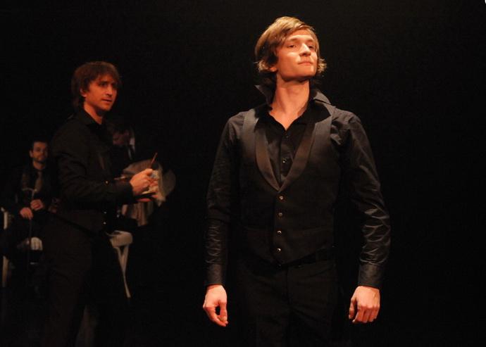 M. Hradil (Basil Hallward) a P. La�tovka (Dorian Gray)