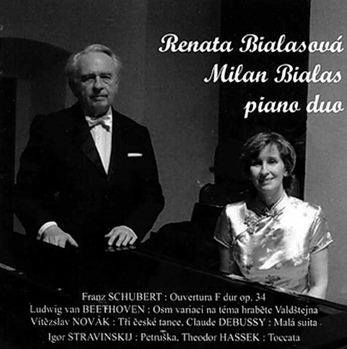 Renata Bialasová, Milan Bialas piano duo