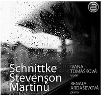 Skladatelé Martinů, Schnittke a Stevenson