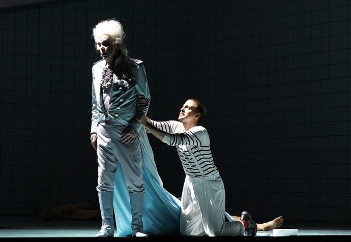 Štefan Margita a Christopher Bolduc (Billy Budd)