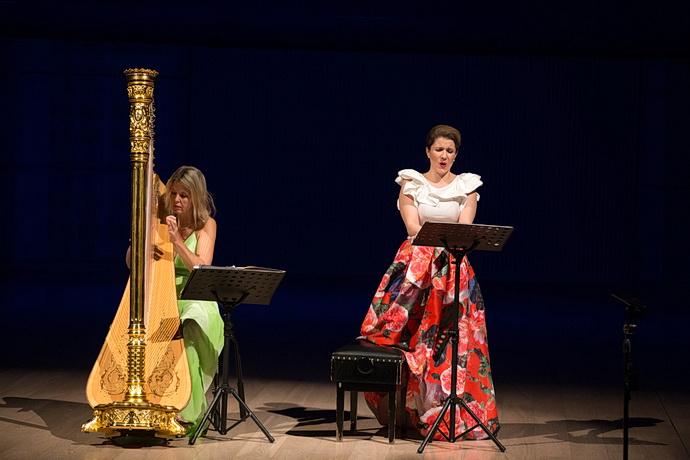 K. Englichová a K. Kněžíková (Zdroj: Filharmonie B. Martinů)