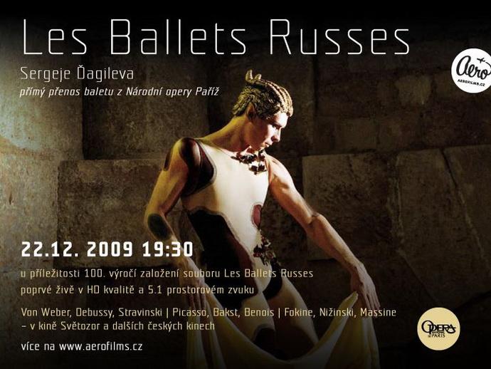 Ruské balety Sergeje Ďagileva ve Světozoru