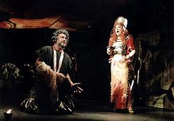 Z inscenace Nabucco - Moravské divadlo Olomouc