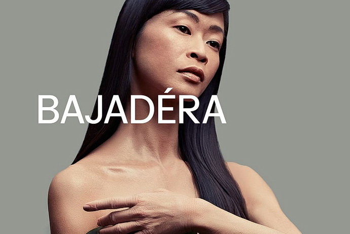 Bajadéra - Grafický design: Robert V. Novák