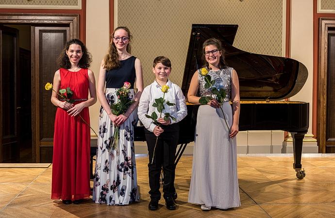 Laureáti na Slavnostním koncertě v Rudolfinu