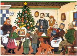 Josef Lada: Vánoce