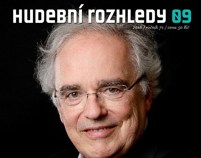Ronald Zollman na obálce HR 09/18
