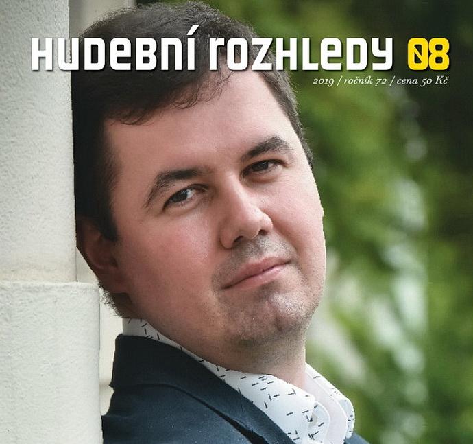 Jakub Klecker na obálce Hudební rozhledy 08/19