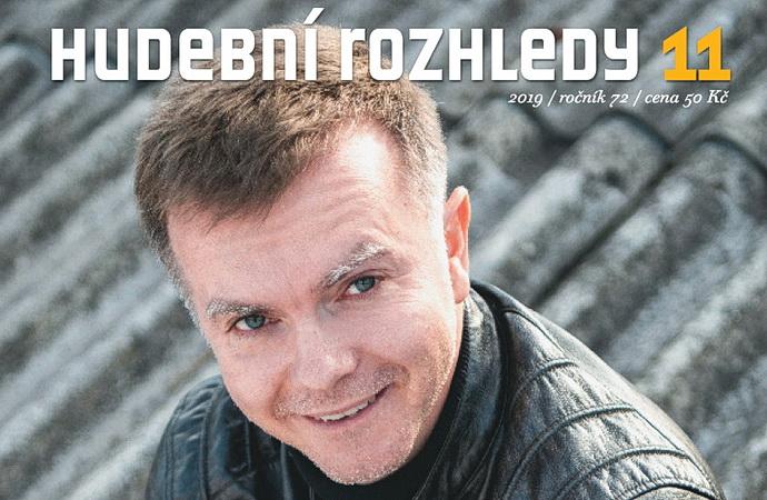 Marek Štryncl na obálce