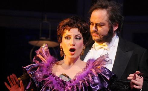 Z inscenace operety Netopýr