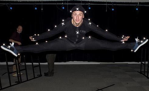 Snímaní pohybu tanečníků
