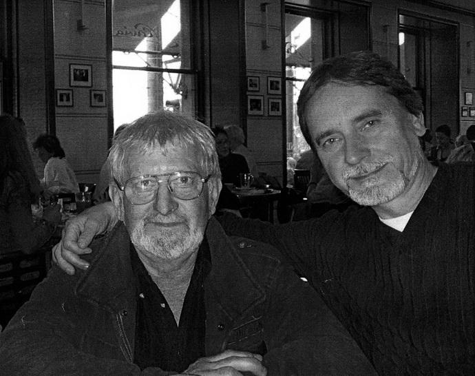 František Pokorný a Jiří Kylián