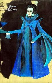 Návrh kostýmu Donny Elviry z dílny Zuzany Krejzkové