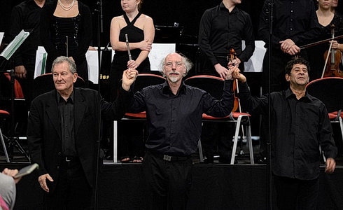 Petr Kot�k, Johannes Kalitzke a Rolf Gupta