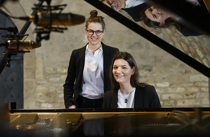 Kristina Barta a Nikola Bóková