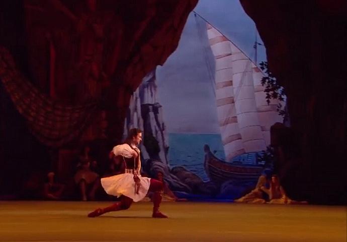 Korzár - pirátský balet s vůní moře a dálek