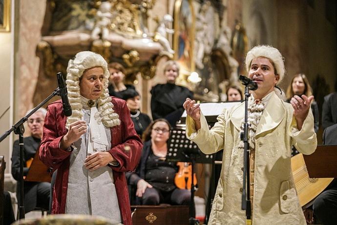 Czech Ensemble Baroque Bacha na Mozarta (Foto: J. Jelínek)
